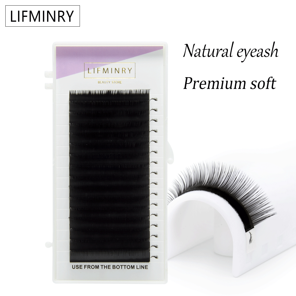 1case High quality eyelash extension mink,individual eyelash extension,natural eyelashes,false eyelashes free shippiping-in False Eyelashes from Beauty & Health