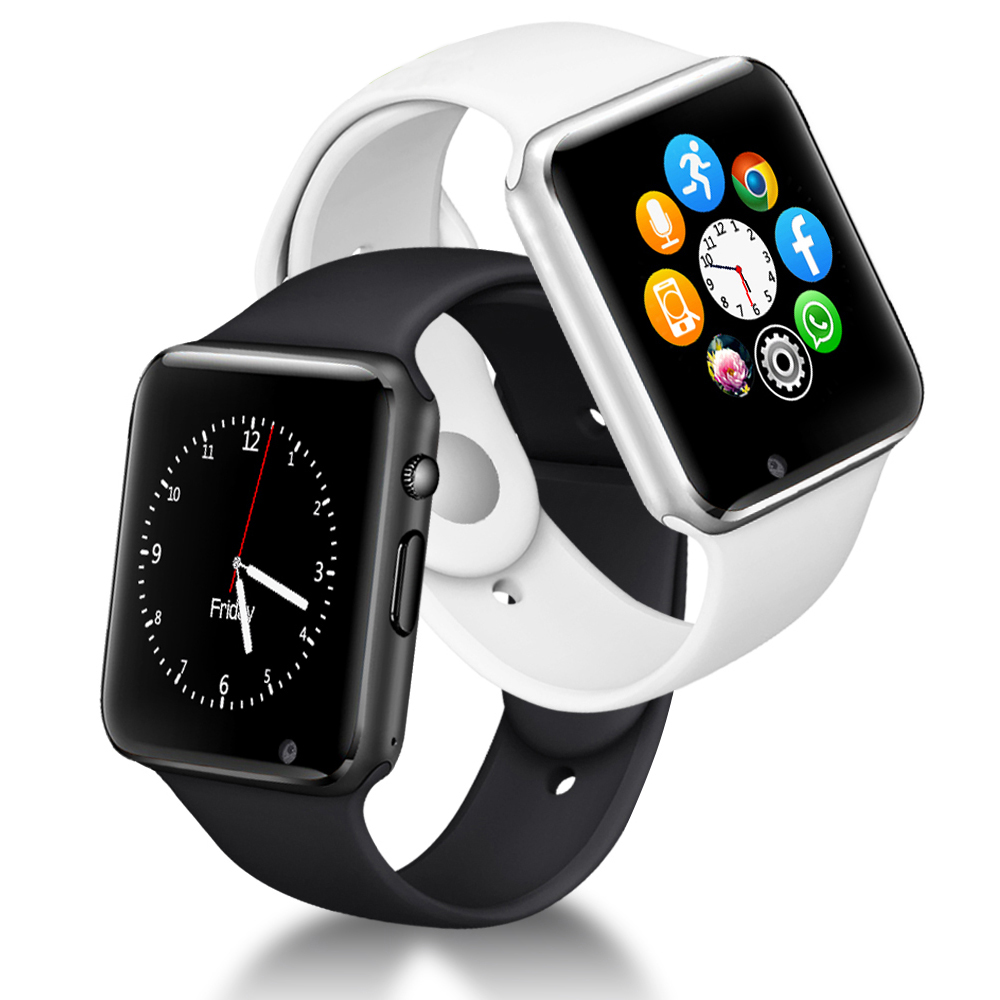 A1 Smart Watch Men For Android Phone Apple Watch Support 2G Sim TF Card 0.3MP Camera Bluetooth Smartwatch Women Kids-in Smart Watches from Consumer Electronics