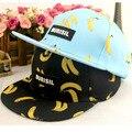 2016 summer printed kids cap fashionable baby boy baseball hat banana fruit pattern cap kids snapback cap hip hop hat children