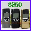 Nokia 8850 mobile teléfono 2g gsm 900/1800 abrió el teléfono celular original 8850 árabe ruso inglés teclado