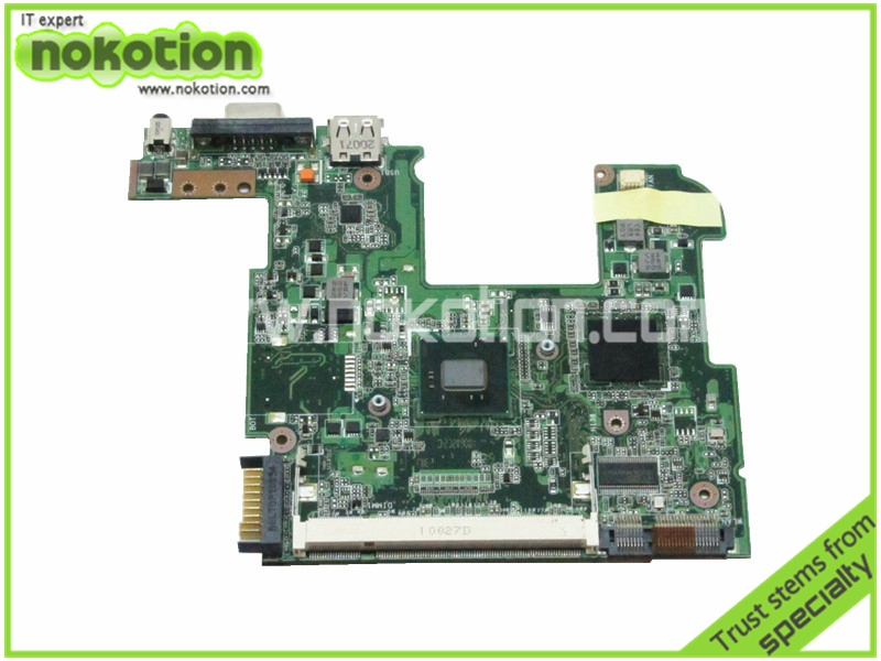 08G2001PA12Q Laptop motherboard For Asus Eee PC 1005PEB Intel N450 CPU Onboard DDR2 REV 1.2G Good Quanliy