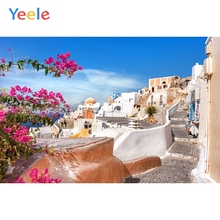 Yeele Landscape City Flower Photocall Decor Painting Photography Backdrop Personalized Photographic Backgrounds For Photo Studio