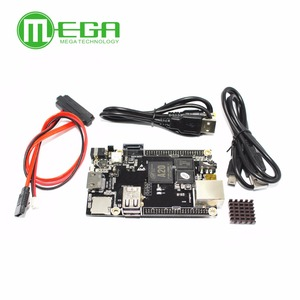 Image 1 - 1pcs PC Cubieboard A20 Dual core Development Board , Cubieboard2 dual core with 4GB Nand Flash