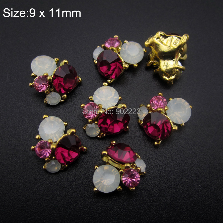 10pcs Crystal strass  nail art rhinestones for nail tips decoration 3d  nail charms AM359 обои виниловые andrea rossi burano 1 06х10м 2536 4