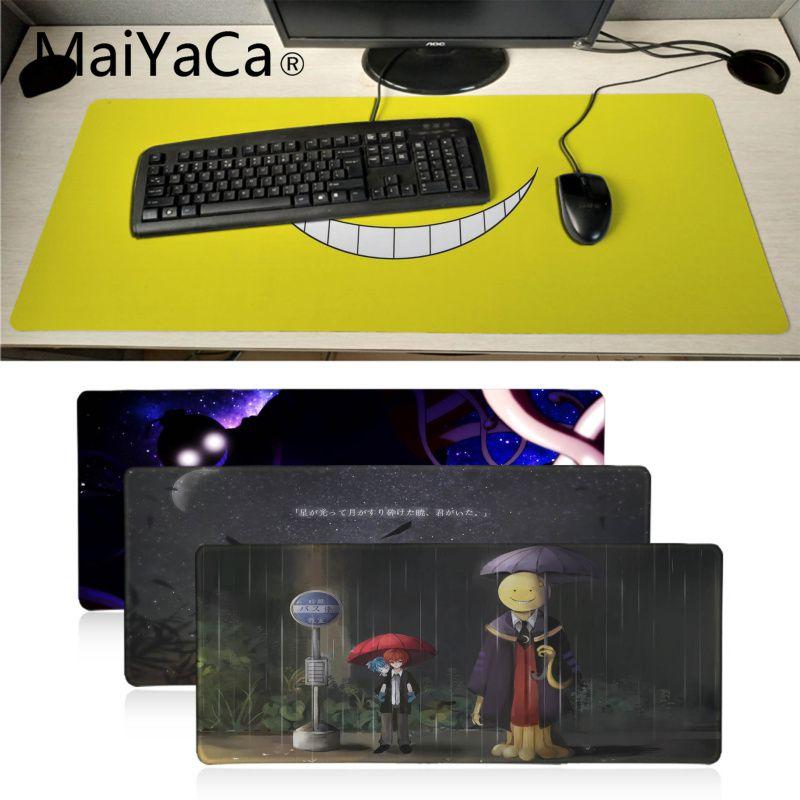 MaiYaCa My Favorite Assassination Classroom mouse pad gamer play mats Anime Cartoon Print Large Lockedge Game Gaming Mouse Pad майка борцовка print bar my favorite