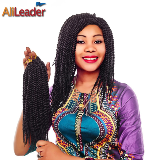 Alileader 12 inch senegalese twist crochet braid high temperature alileader 12 inch senegalese twist crochet braid high temperature crochet hair synthetic pre braided hair extensions pmusecretfo Images