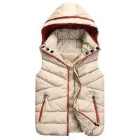 2017 witner vest women colete sleeveless jacket women clothings casual jacket vest outerwear coat vests waistcoat large size