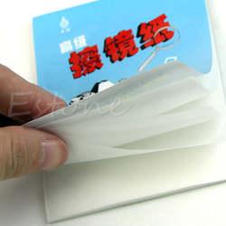 1 шт. 50 простыни детские мягкие Объективы для фотоаппаратов оптика салфетка Чистящая Clean бумажные салфетки Booklet