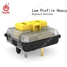 Kailh チョコ低プロファイル Heavys スイッチ ChocThink クリック RGB SMD 、リニア、 60 gf 力、 50 回