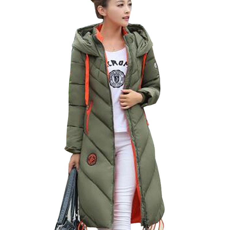 Fashion Ladies Coats Army Green 2017 Winter Coat Women ...