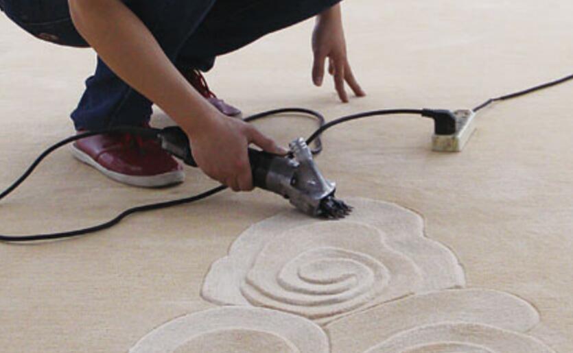 Maître de cisaillement de machine de sculpture de tapis portatif de ST-II
