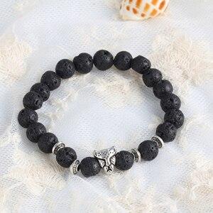 7 Chakra Bracelet Men Black...