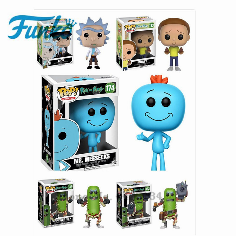 """FUNKO POP """"Rick And Morty"""" Mission, Mr. Binder. Action Figure Collectible PVC Model The Star Action Image Model Toys"""