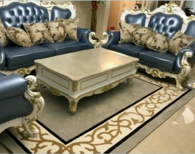 Lavé rectangle acrylique grand tapis pour salon chambre tapis motif conception chambre mode personnalisé tapis ajustement chambre tapis
