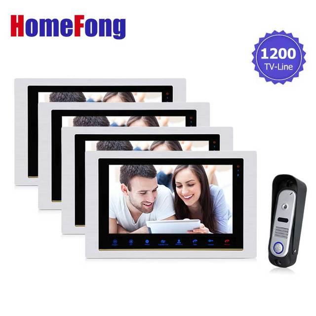 Beau Homefong Video Intercom Door Phone Home Intercom High Resolution Front Door  Monitor System Inter Conversation