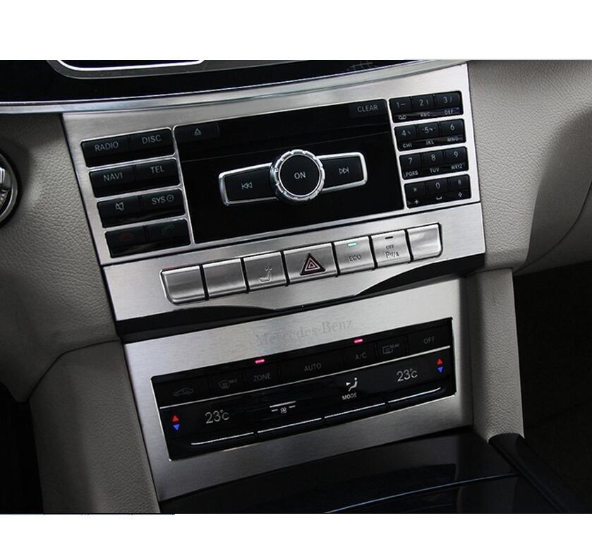 Keskmise konsooli reguleerimisnupu raamikate 3-osaline Mercedes Benz - Auto salongi tarvikud - Foto 2