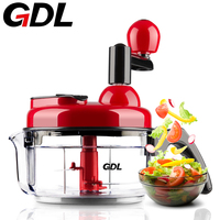 Manual Meat Grinder Household Multi Function Vegetables Cutter Food Broken Mixer Dumplings Stuffing Machine