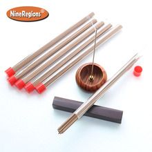 10g 40pcs/tube high quality natural aromatic Chinese HaiNan Aloeswood sticks incense oudh perfume scents agar incenso