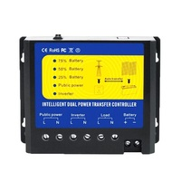 Q4500W System Voltage 24V And AC110V 120V Automatic Transfer Controller For Solar System Or Wind System