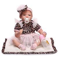 DOLL Silicone Reborn Baby Doll Toy