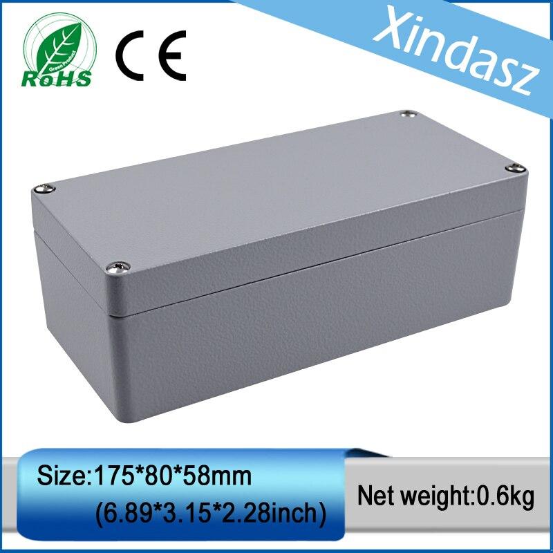 все цены на XD-FA20 1pcs in stock IP66 water proof cast aluminum box aluminum die casting company 175*80*58mm онлайн