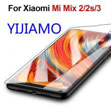 Mi 8se glass for xiaomi mi mix 2 s 3 ksiomi mix2 protective glass s2 xiomi xaomi xiami a2 screen protector tempered protected 9h(China)