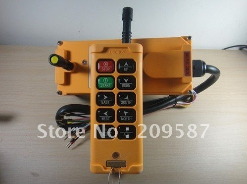 10 Channels Hoist Crane Radio Remote Control System 12V