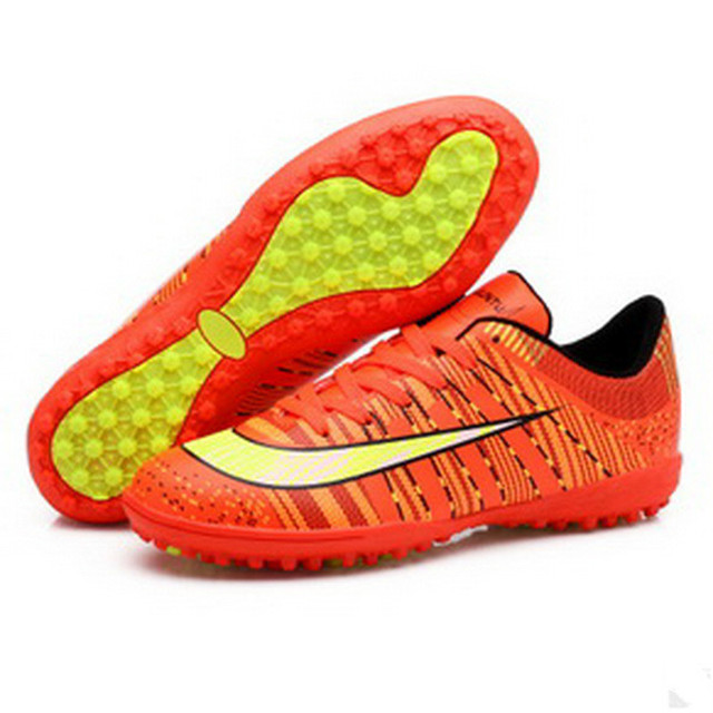 Superfly Kids Soccer Shoes 2017 Outdoor Training Sneakers Non Slip Breathable Sport Shoes Sale In China