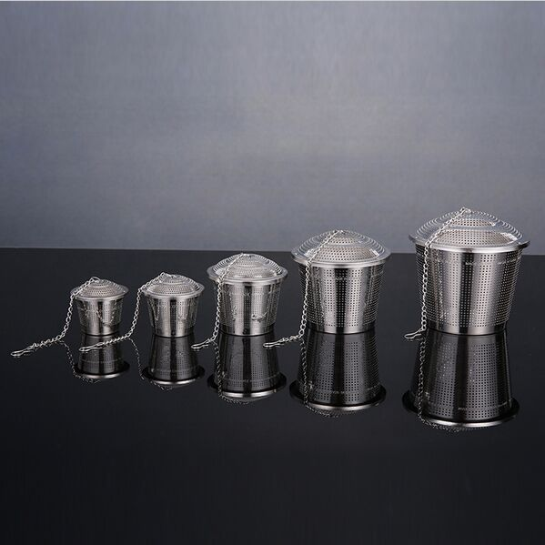Stainless Steel beer Hop Steeper - home brew wine Herb Ball dry hopping 10CM wide and 9.5CM high