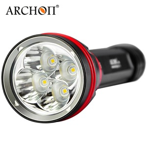 Image 2 - Free shipping Archon DY02 DY02 W 4000lumens 6500K Diving Light Underwater Torch with Battery and Charger Included