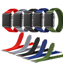 Silicone Sport Strap For Apple Watch band 4 44mm 40mm No Buckle Soft Breathable Replacement band For iWatch series 3 2 1 42/38mm top for apple watch band nike silicone replacement sport band for apple series 4 band for iwatch 4 bands 44mm 38mm series 3 2 1