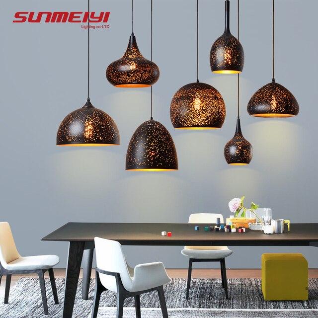 Modern LED Pendant Lights Bar Design Lamp Pendant Lighting lamparas colgantes Living room Dining room luminaire suspendu
