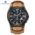 Pagani Design Watches Men Military Leather Quartz Watch Luxury Brand Waterproof Multifunction Sport Wristwatch relogio masculino
