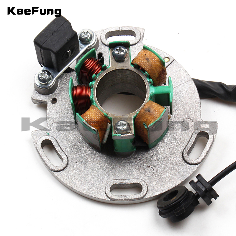 US $37 1 8% OFF|Motorcycle LF Lifan 150cc 8 coil Magneto Stator for  Horizontal Motor Racing Stator Rotor for Dirt pit monkey Bike 140 150cc-in