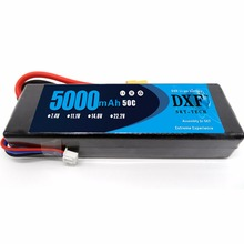 DXF 50C 2S 5000mAh 7.4V LiPo Hard Case Battery for RC Car, Truck, Buggy, Boat, Heli, and Drone (Hard Case) dxf 50c 2s 5000mah 7 4v lipo hard case battery xt60 plug for rc car truck buggy boat heli and drone hard case