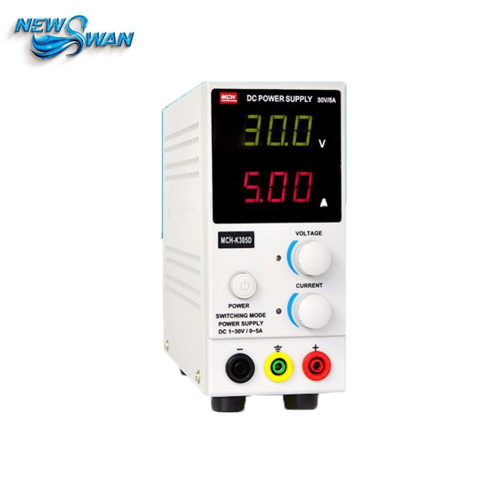 MCH-K305D Mini Switching Regulated Adjustable DC Power Supply SMPS Single Channel 30V 5A Variable Current Power Supply MCH K305D cps 6011 60v 11a digital adjustable dc power supply laboratory power supply cps6011