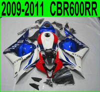Red blue For Honda CBR 600RR 2009 2010 2011 fairing kit ( 100%fit ) cbr600 rr 09 10 11 Fairings SZ46
