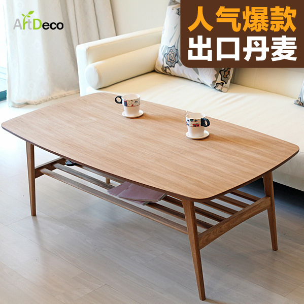 Us 14300 Yidai Home Modern Minimalist Wood Coffee Table Ikea Furniture Small Apartment Living Room Coffee Table Scandinavian Table Specia W Yidai