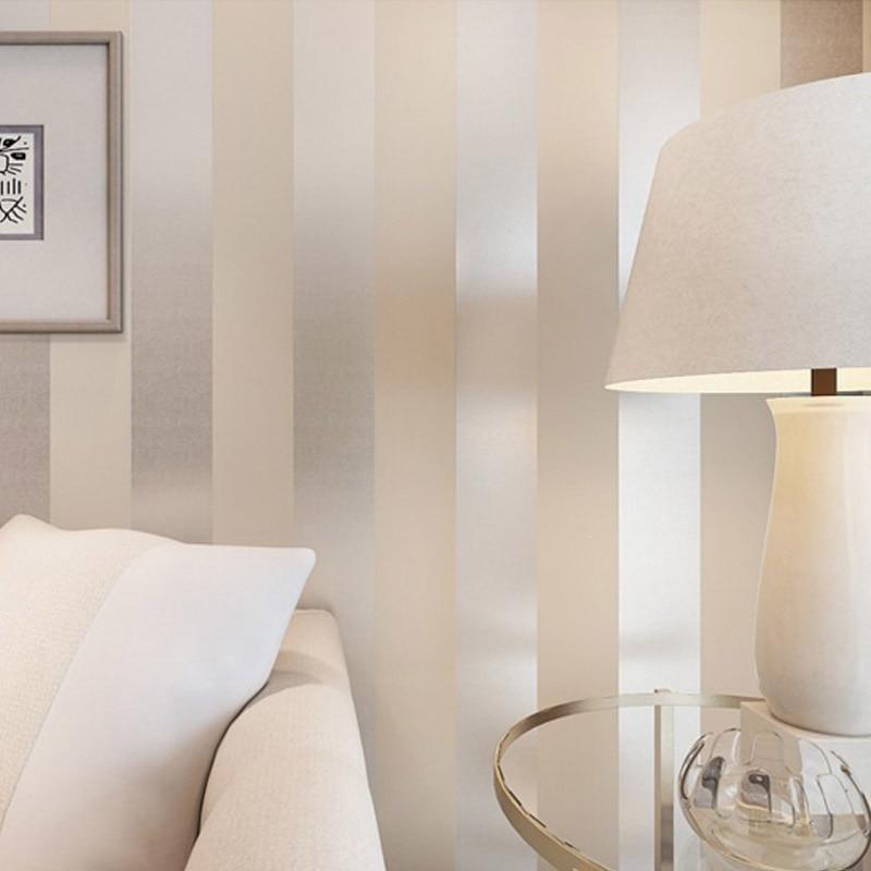 New Design Texture Wallpaper Non-woven 3D Embossed Vertical Stripes Photo Wallpaper Living Room TV Sofa Backdrop Wall Home Decor