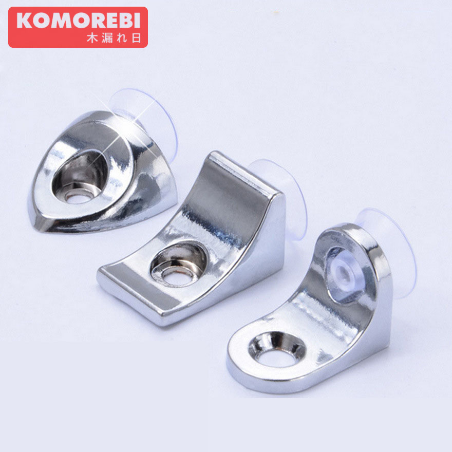 komorebi Stainless Steel Shelf Support Corner Brace Angle Bracket 10Pcs angle | bracket ned 65x65x20mm practical stainless steel corner brackets joint fastening right angle 2 5mm thickened bracket with screws