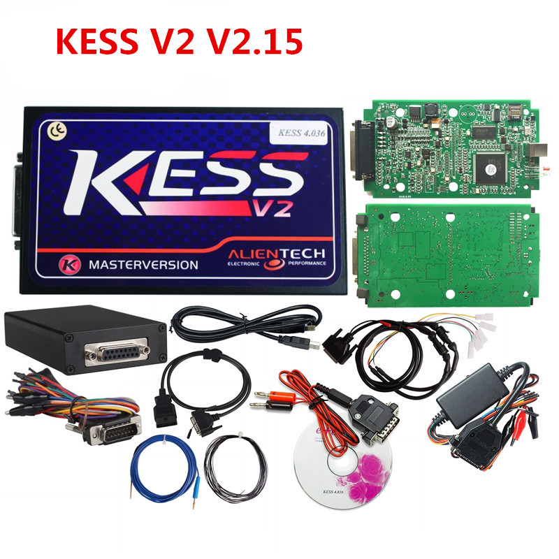 KESS V2 OBD2 Manager Tuning Kit Hardware V4.036 No Tokens Limited Master Version V2.15 ECU Chip Tuning Tool цена