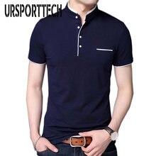 Рубашка поло мужская с коротким рукавом брендовая Повседневная