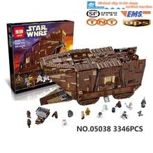 3346 pcs Lepin 05038 3Star Wars Sandcrawler Building Blocks Sets Juguete para Construir Bricks Toys compatible  legeod  75059
