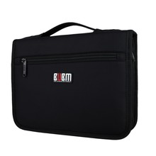 BUBM Portable Organizer System Kit Case Storage Bag Digital Gadget Devices USB Cable Earphone Pen Travel Insert Bag
