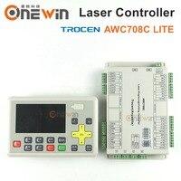 Trocen AWC708C LITE Co2 Laser Controller für laser gravur maschine ersetzen AWC608-in Holzbearbeitungsmaschinen-Teile aus Werkzeug bei