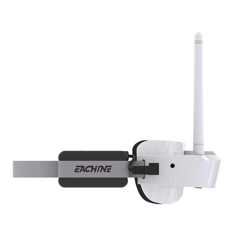 Eachine EV100 720*540 5.8G 72CH FPV Occhiali Bianco Con Mini DVR 7.4V 1000mAh Batteria Droni Con Foto/videocamera accessori Kit