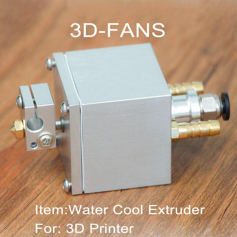 1Set E3D Extruder V6 Water Cool Hotend Extruder Kit 0.4mm Copper Nozzle For 3D Printer
