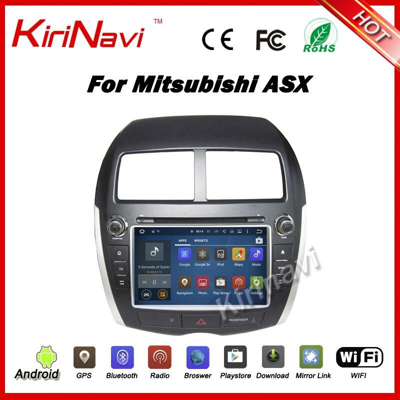 Kirinavi Android 7 1 car multimedia for mitsubishi asx car font b radio b font gps