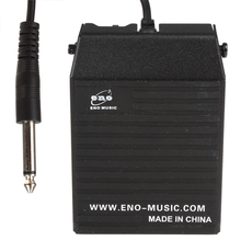 Black Alloy Sustain Pedal Controller Effects in Keyboard for Yamaha Casio Electronic Piano all Electronic Organ