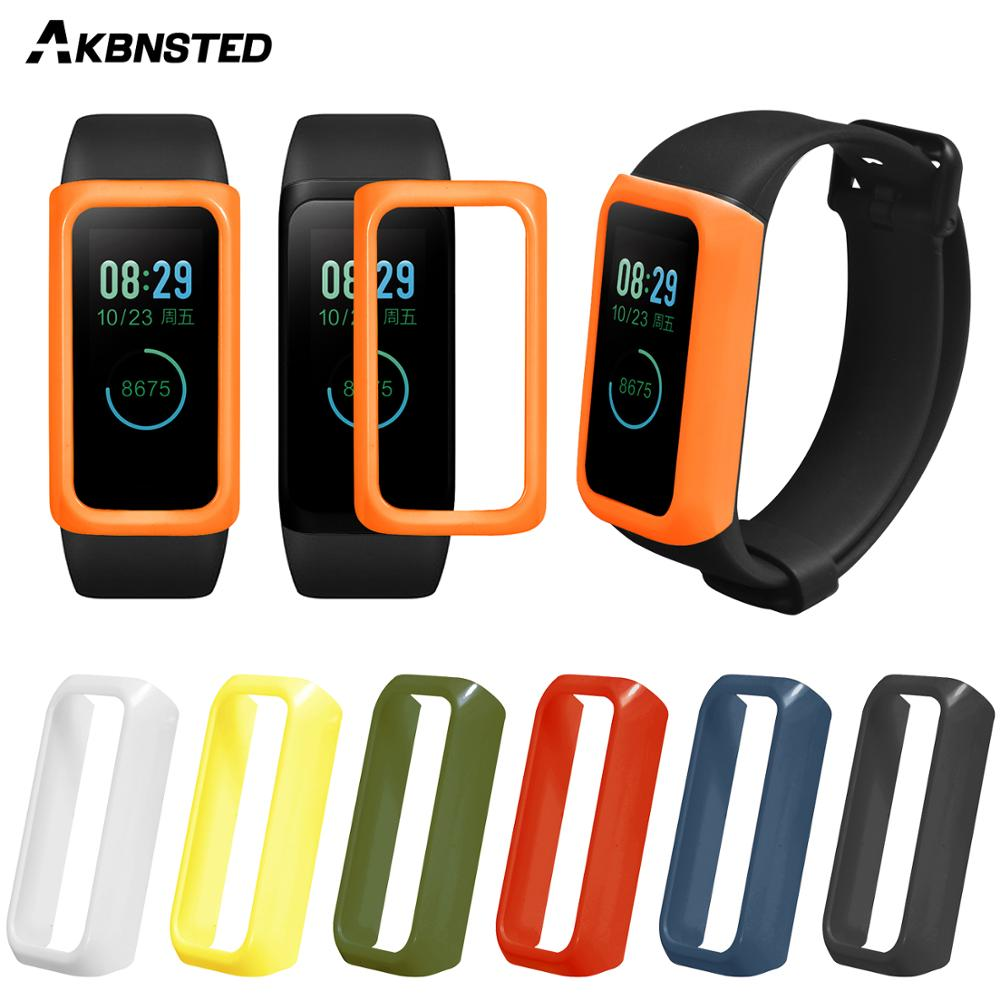 AKBNSTED Protect Case Cover For Xiaomi <font><b>Amazfit</b></font> <font><b>Cor</b></font> <font><b>2</b></font> Smart <font><b>Bracelet</b></font> Colorful Frame Cover for <font><b>Amazfit</b></font> <font><b>Cor</b></font> <font><b>2</b></font> Accessories image